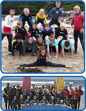 Summer Surf Camp Group Photos